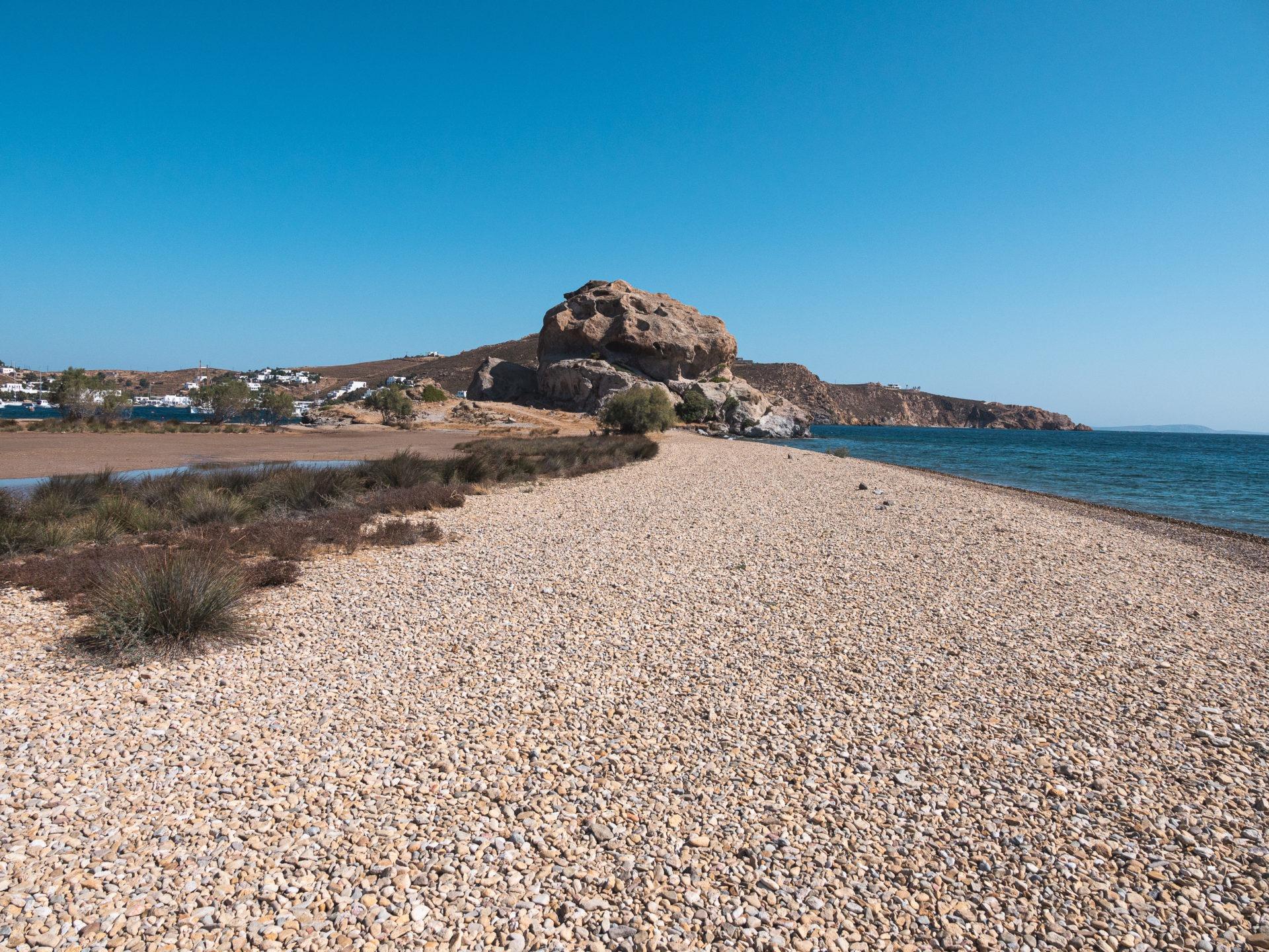 petra beach patmos