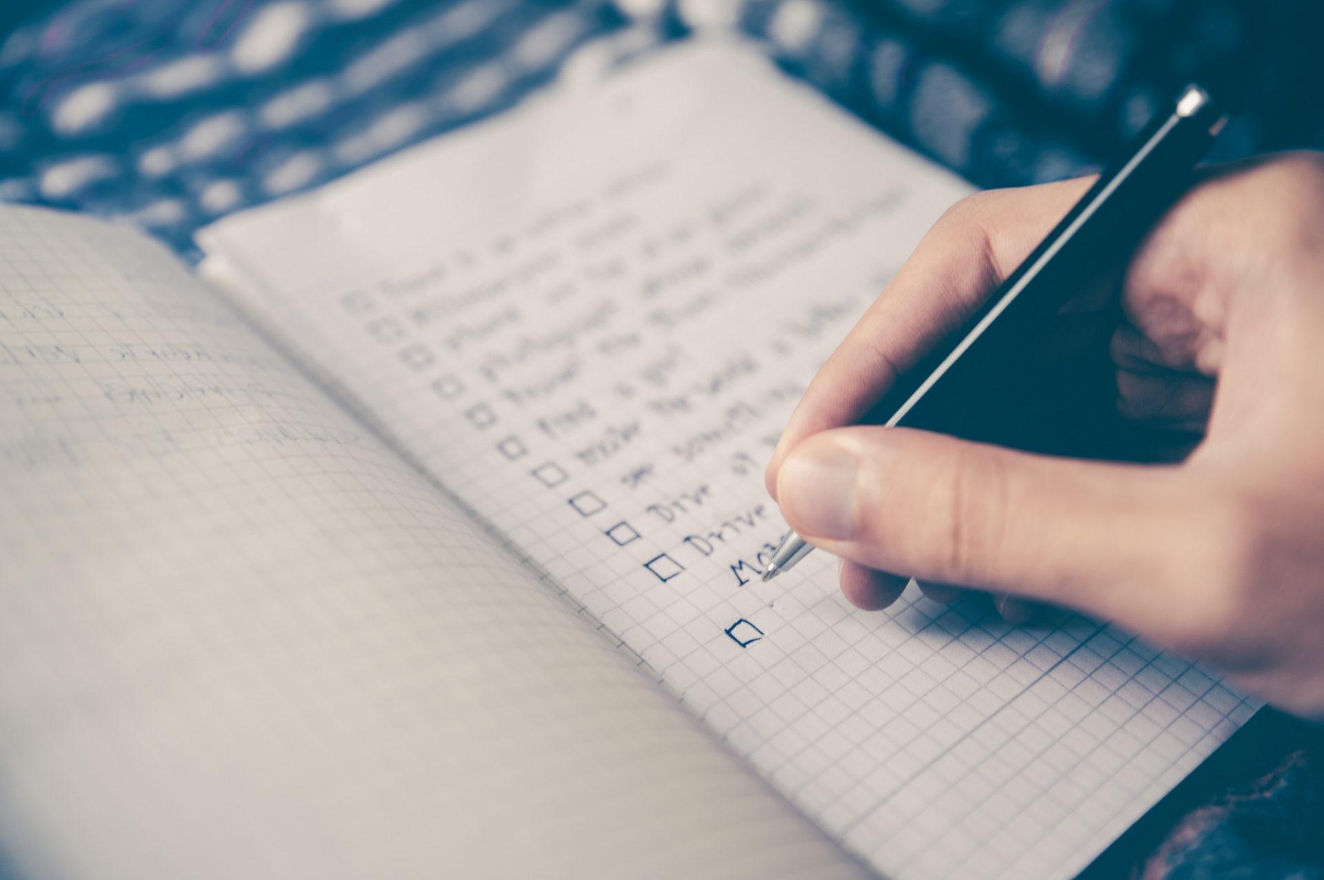 checklist stocksnap pixabay 7