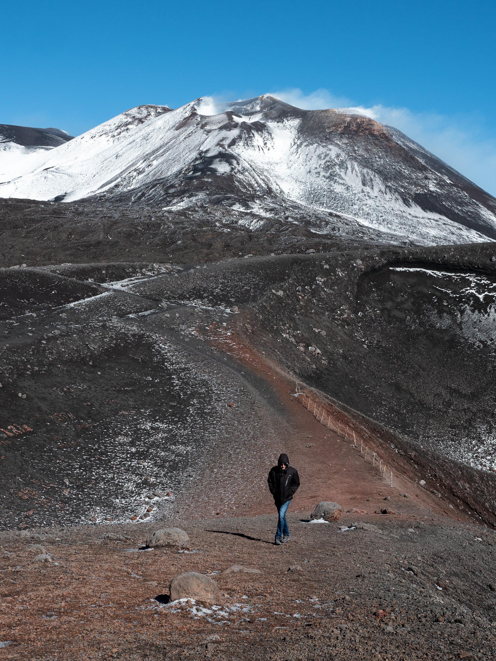 sommet volcan etna