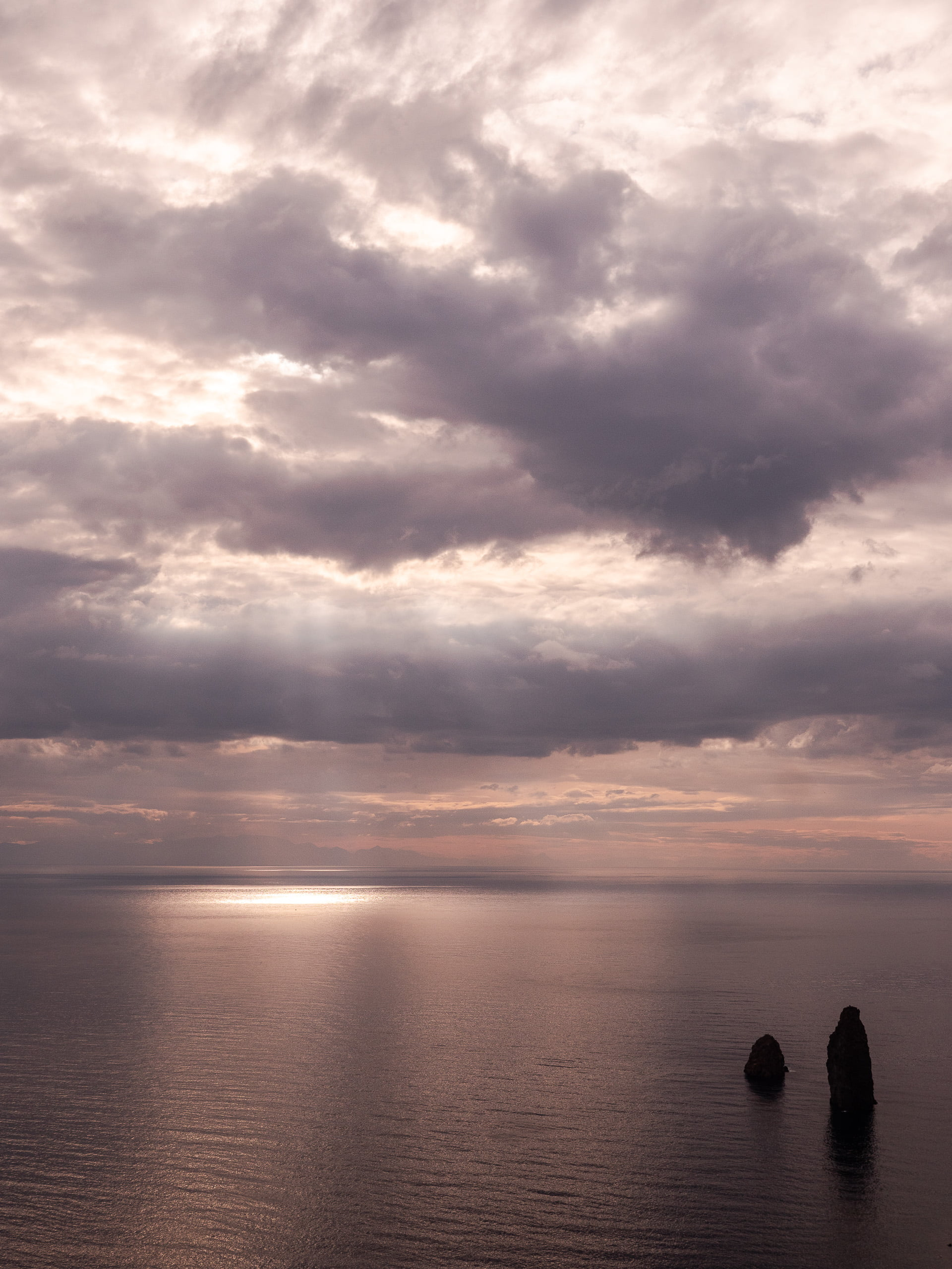 faraglionis, îles éoliennes, Lipari