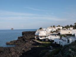 Village de Stromboli île éolienne