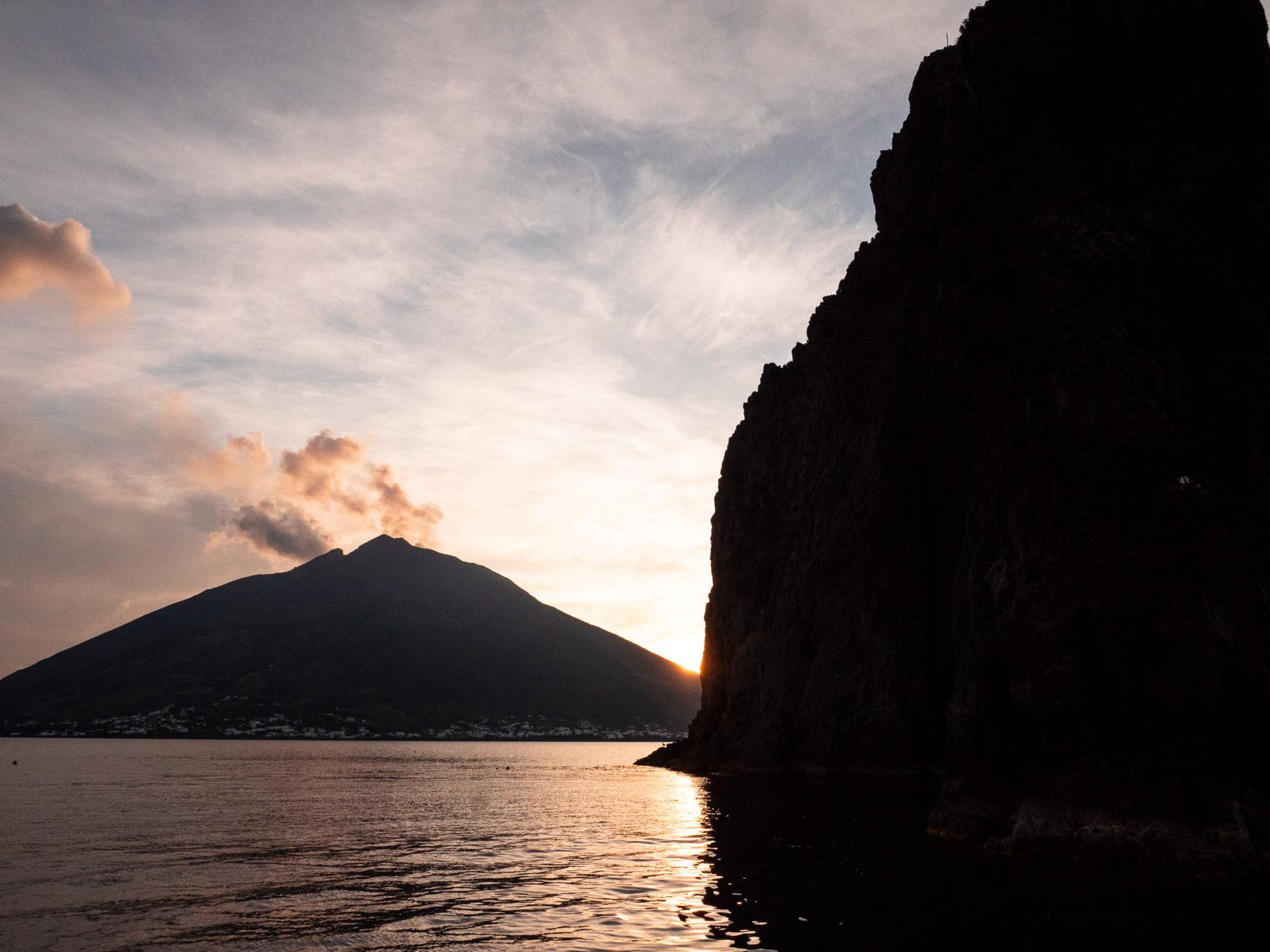 éruption volcan stromboli sicile
