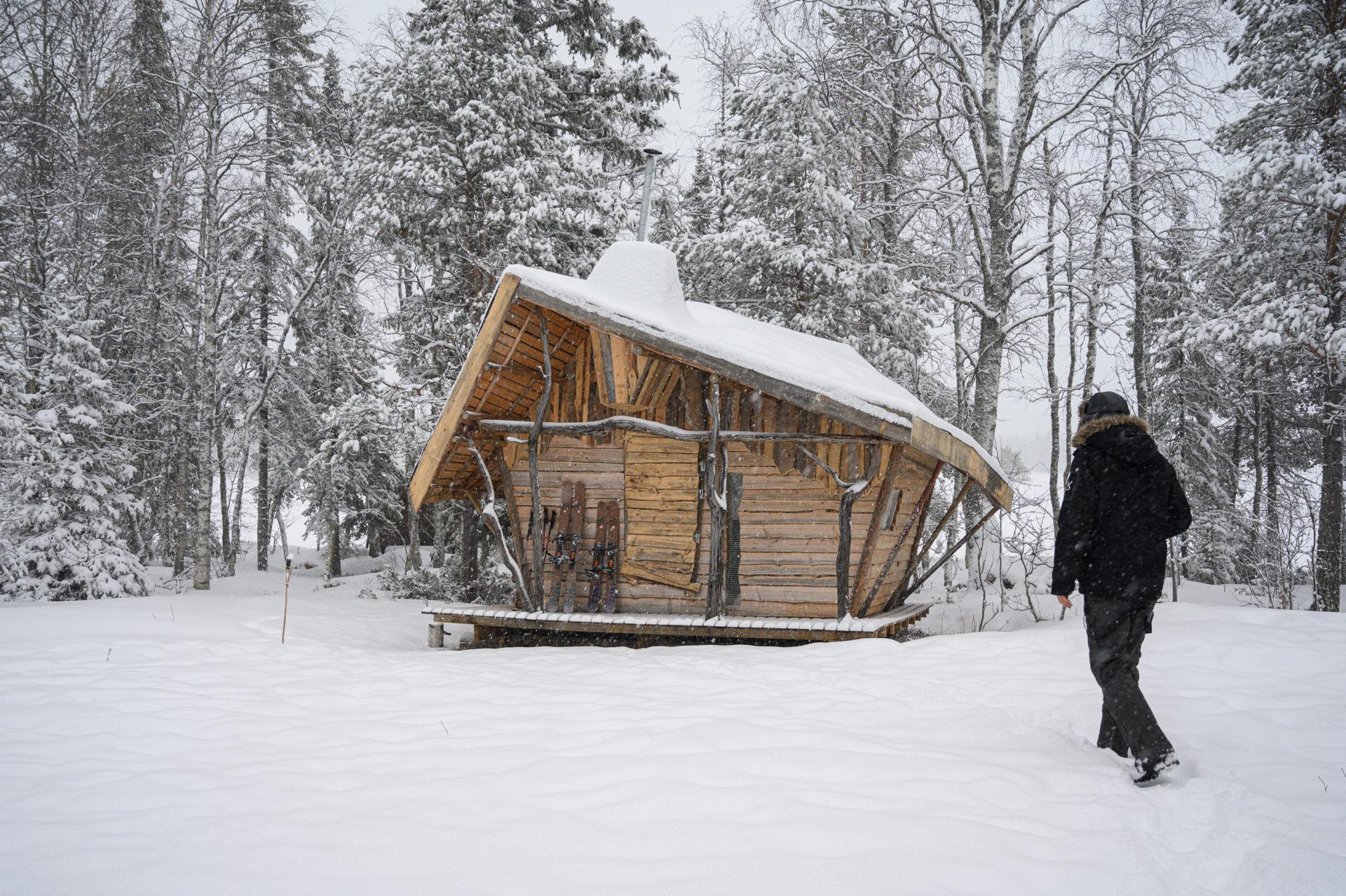 Hébergement durable en Laponie