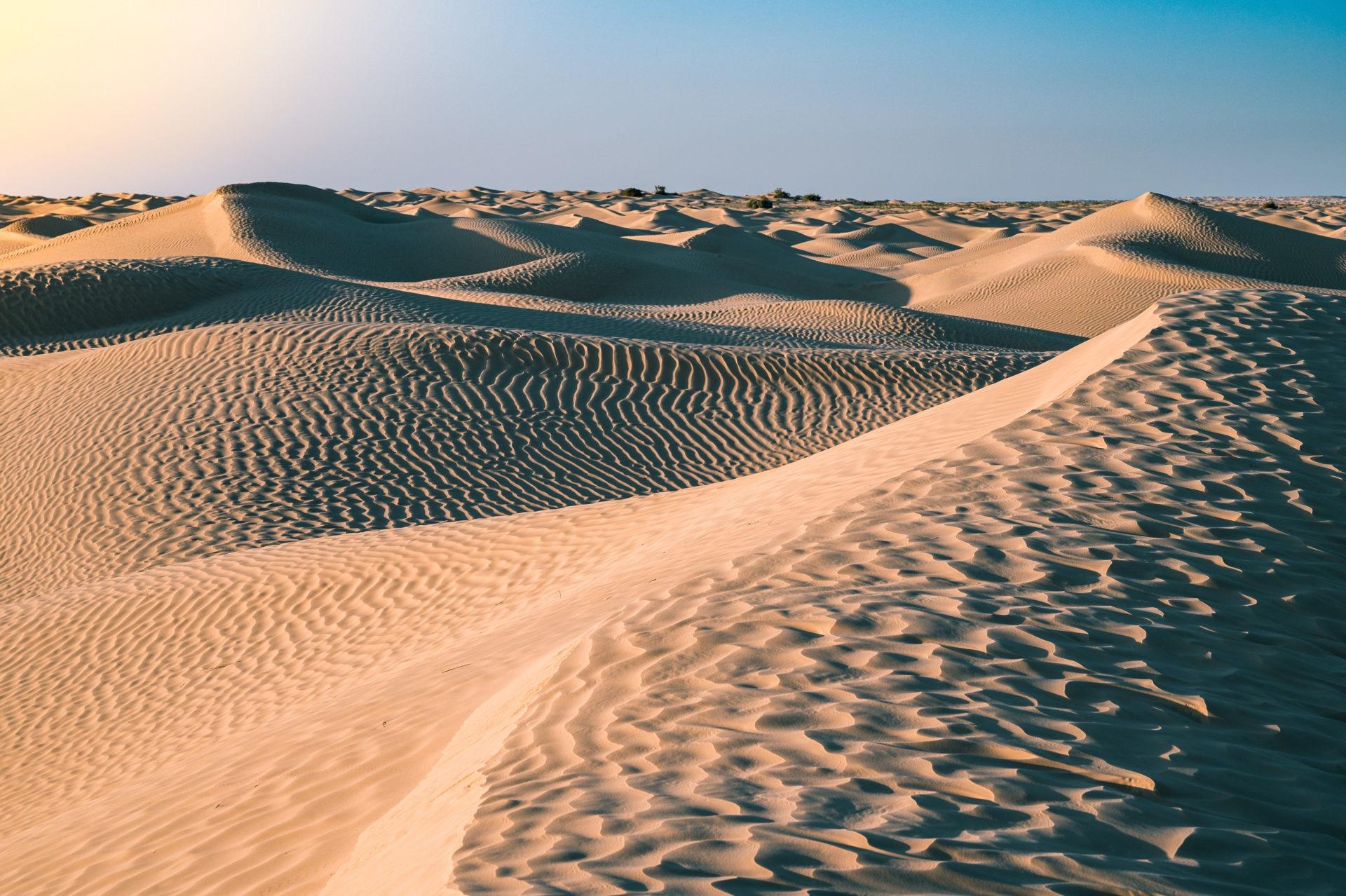 dunes sahara tunisie