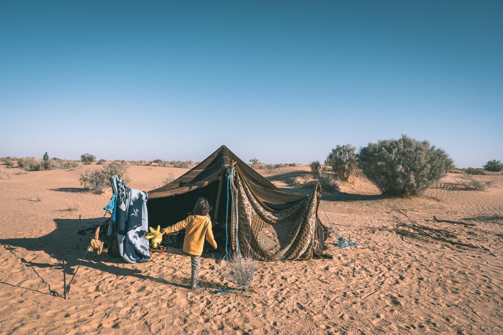 désert tunisien tente