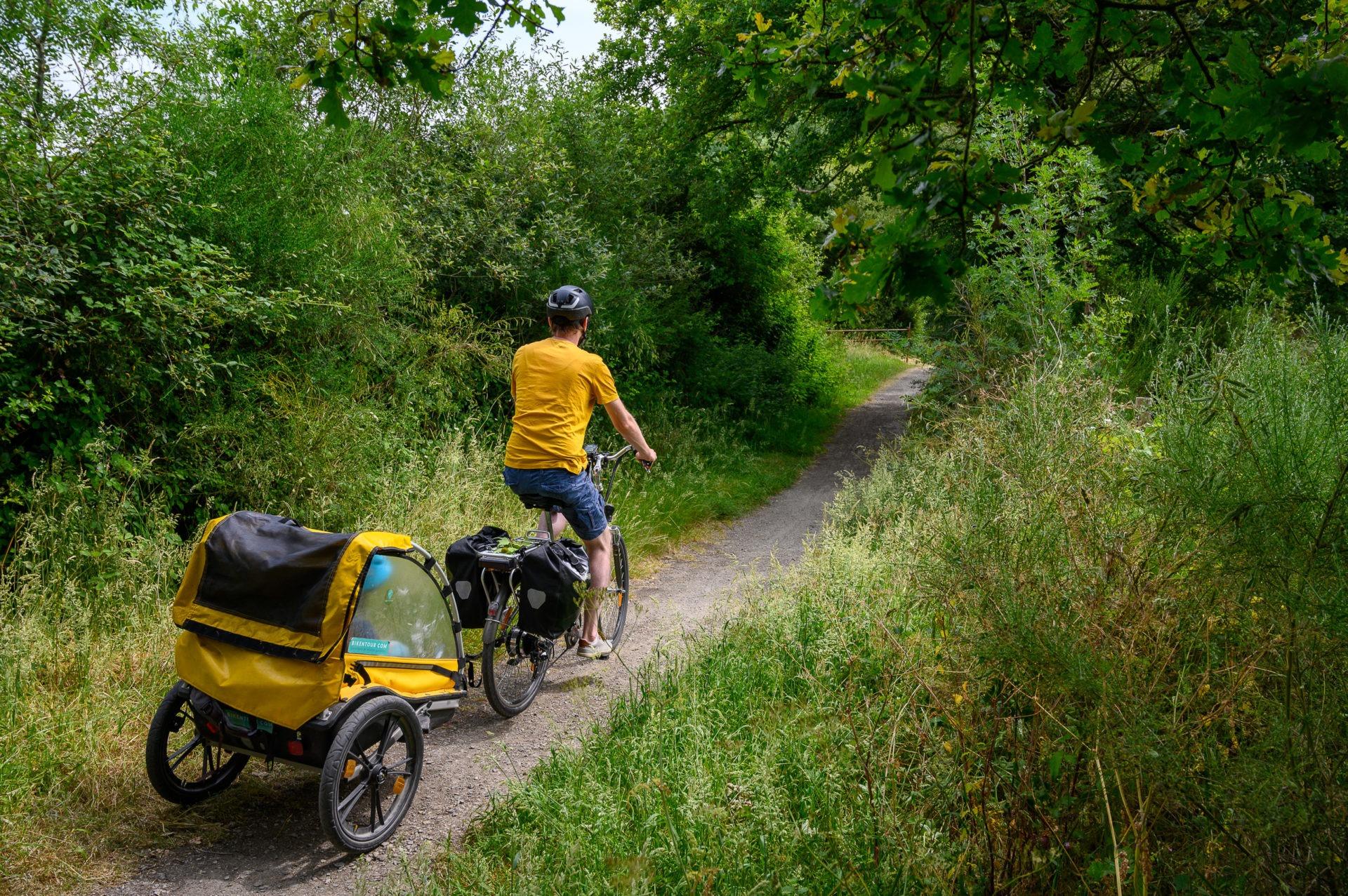 Itinéraire à vélo autour de Nantes