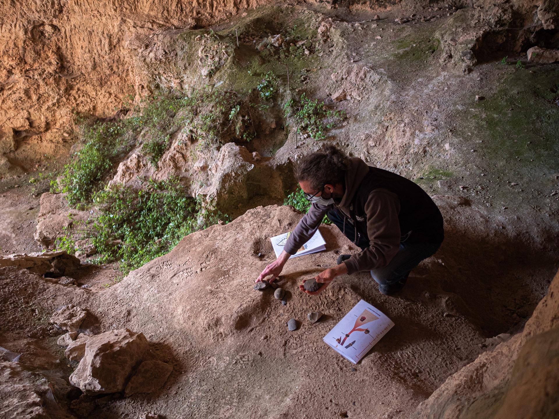 Grotte de Baume Bonne, Quinson
