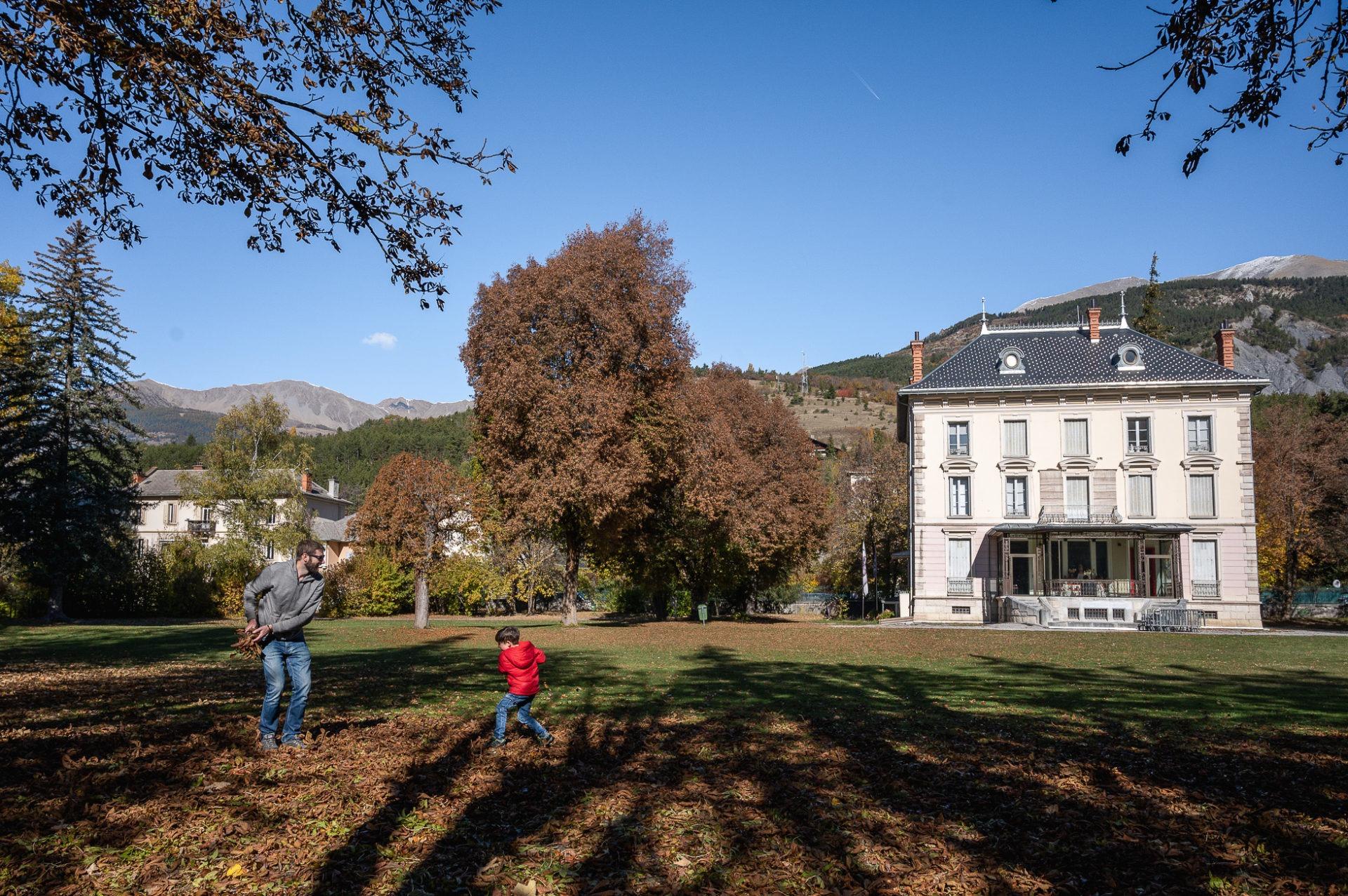 Villa mexicaine, vallée de l'Ubaye, Alpes de Haute Provence
