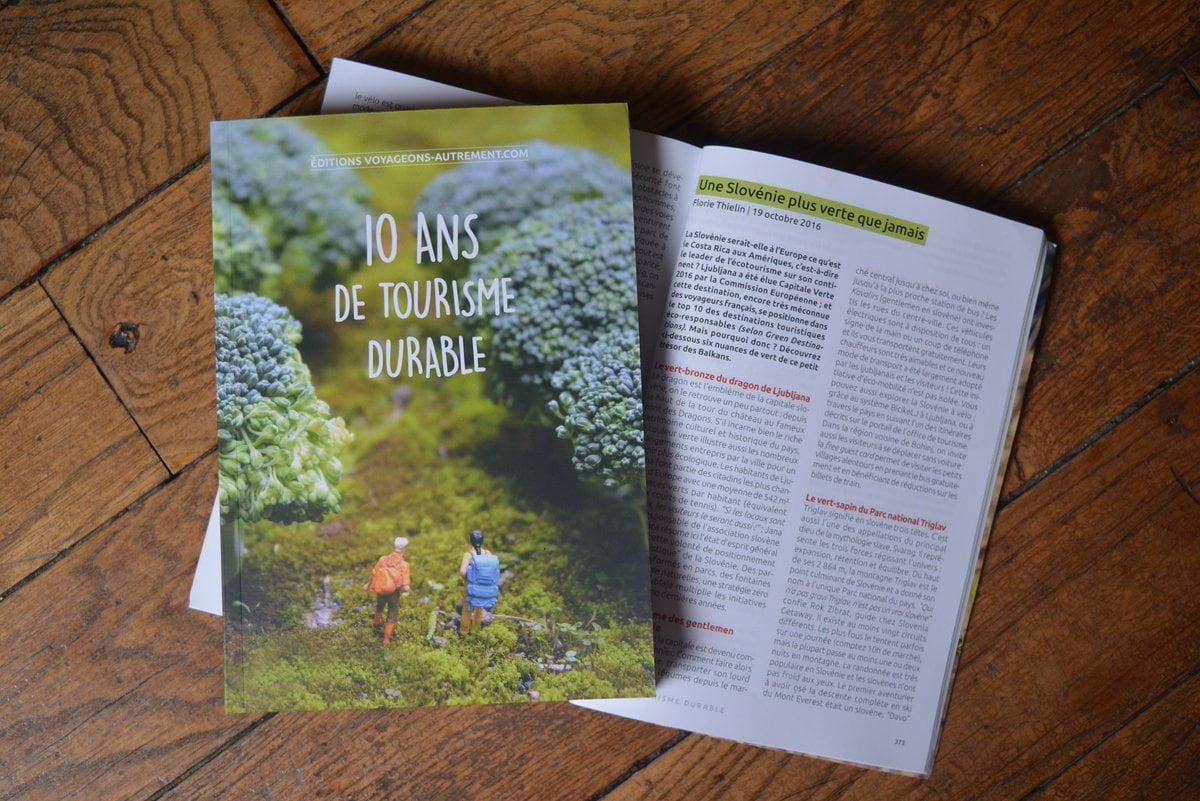 livre 10 ans tourisme durable - Les globe blogueurs - blog voyage nature