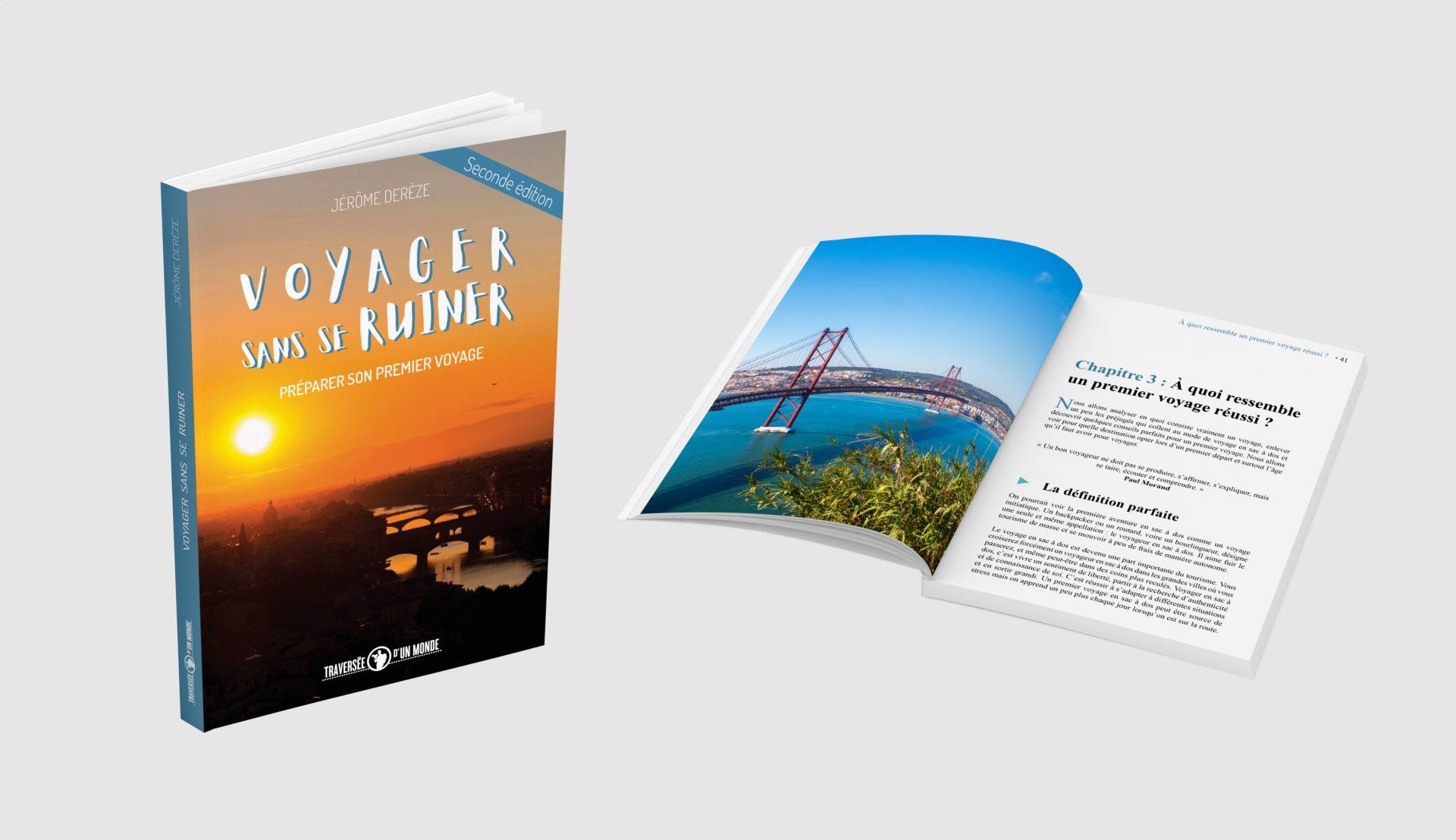 Livre voyager sans se ruiner 2 - Les globe blogueurs - blog voyage nature