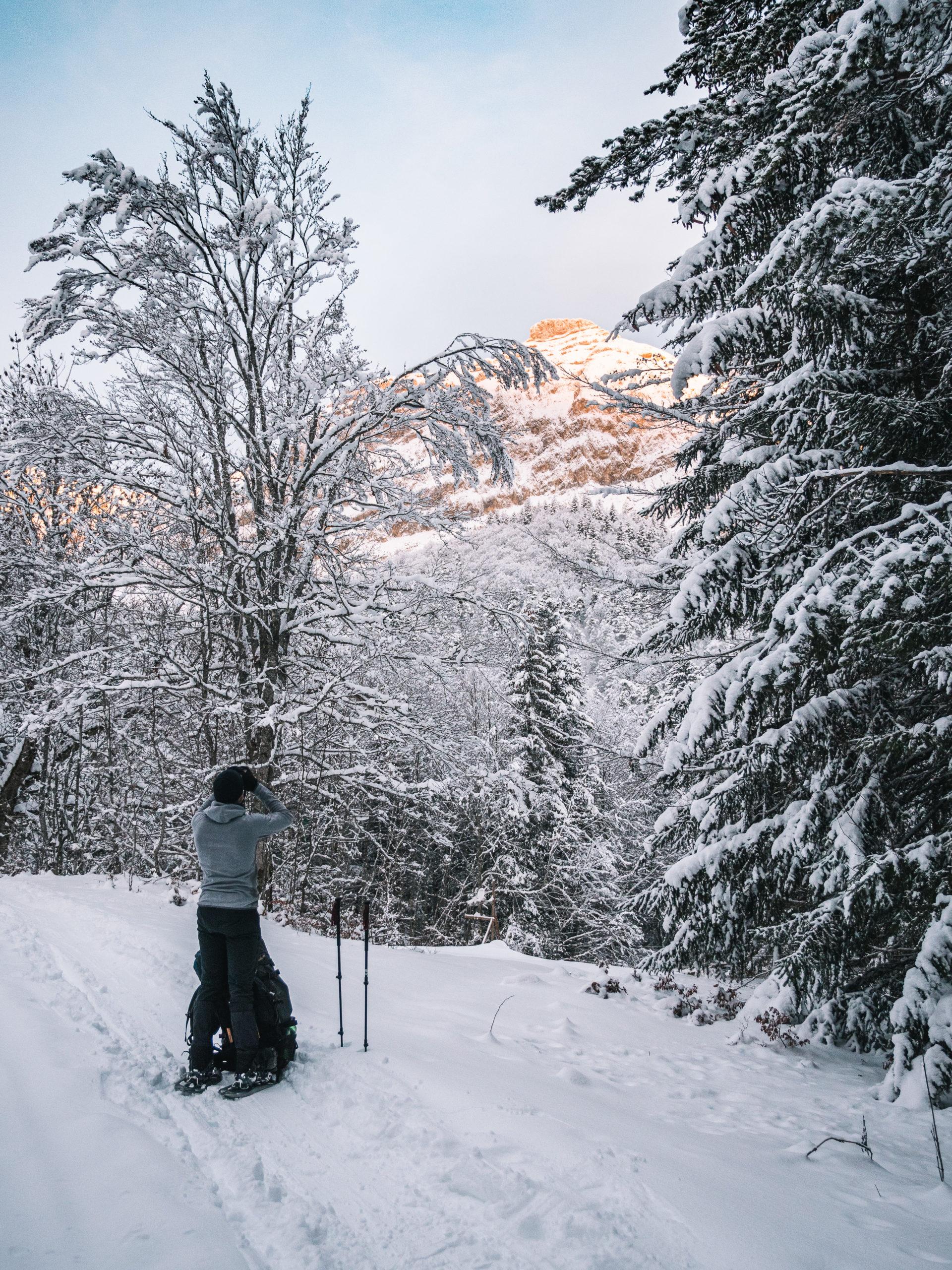 randonnée grand veymont hiver