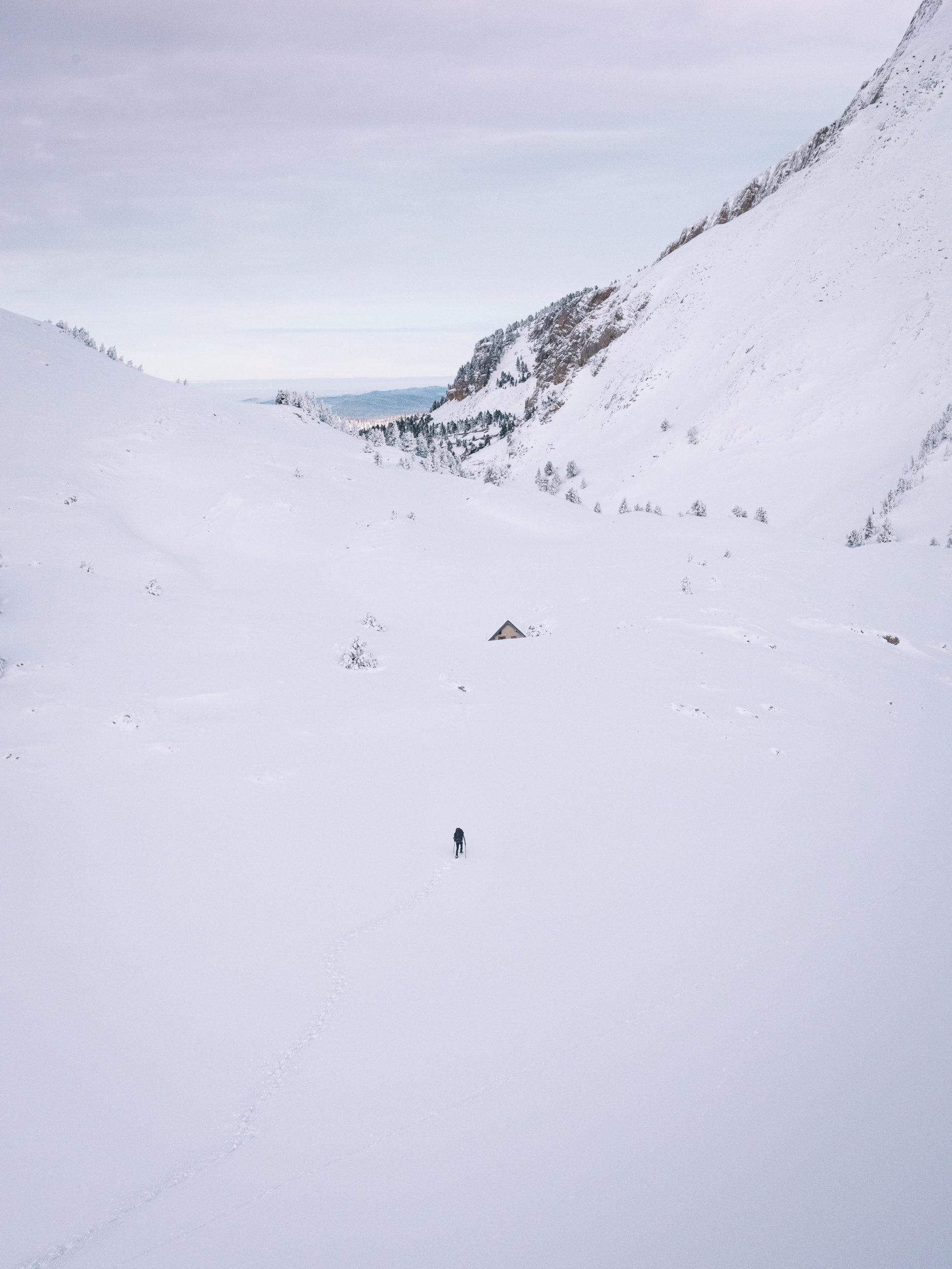 refuge vercors hiver