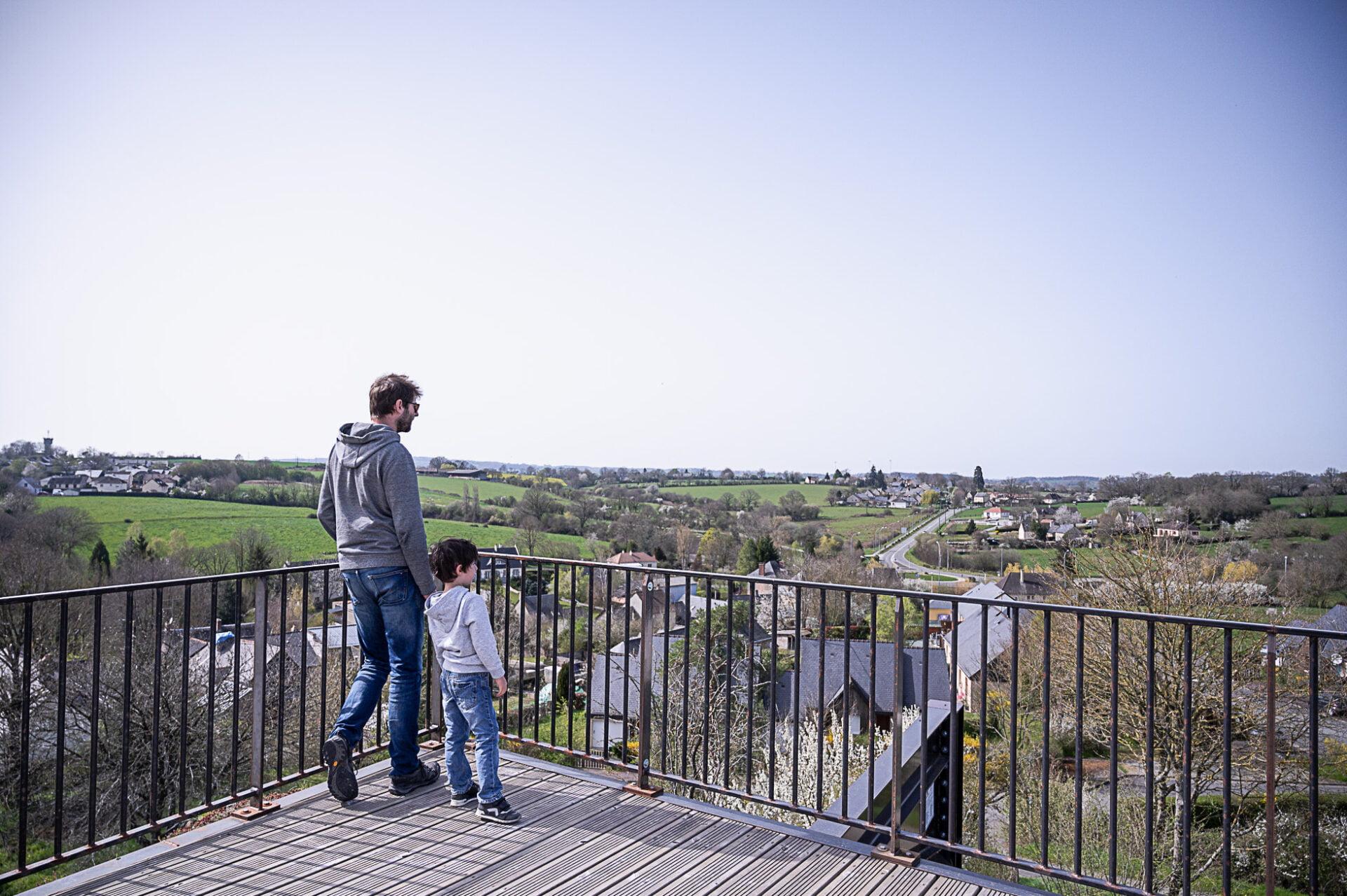 donjon Villaines la Juhel - Alpes mancelles