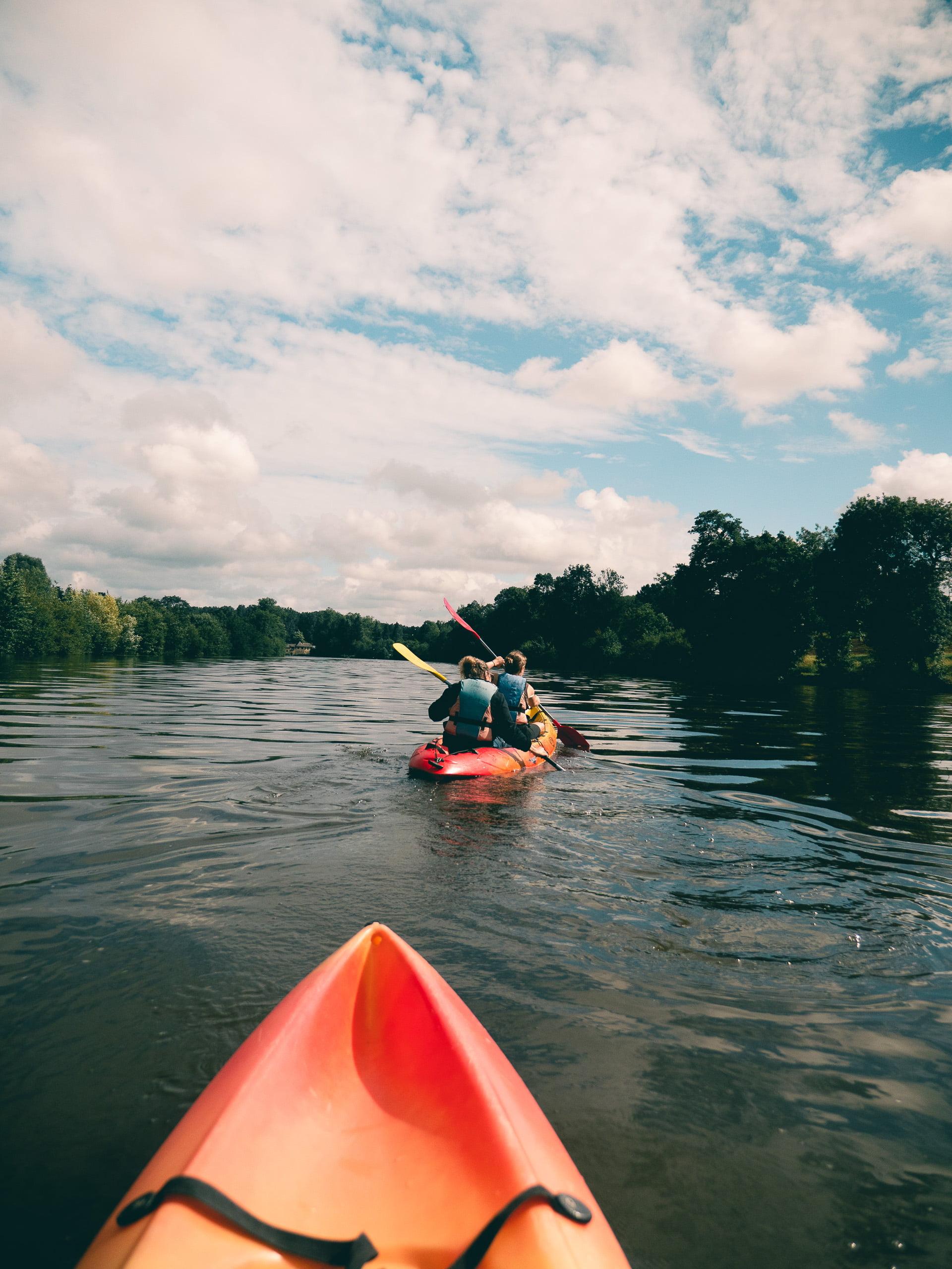 canoe kayak vogue et vague